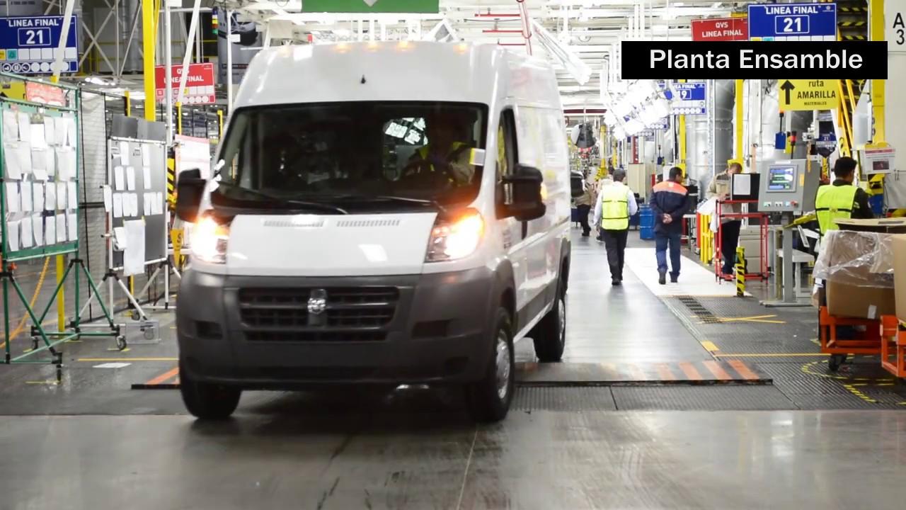 2017 Ram Promaster Cargo Van Cargo Van >> Planta de Ensamble Saltillo Van - YouTube