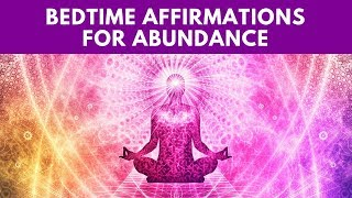 Bedtime Law of Attraction Sleep Affirmations for Abundance & Money