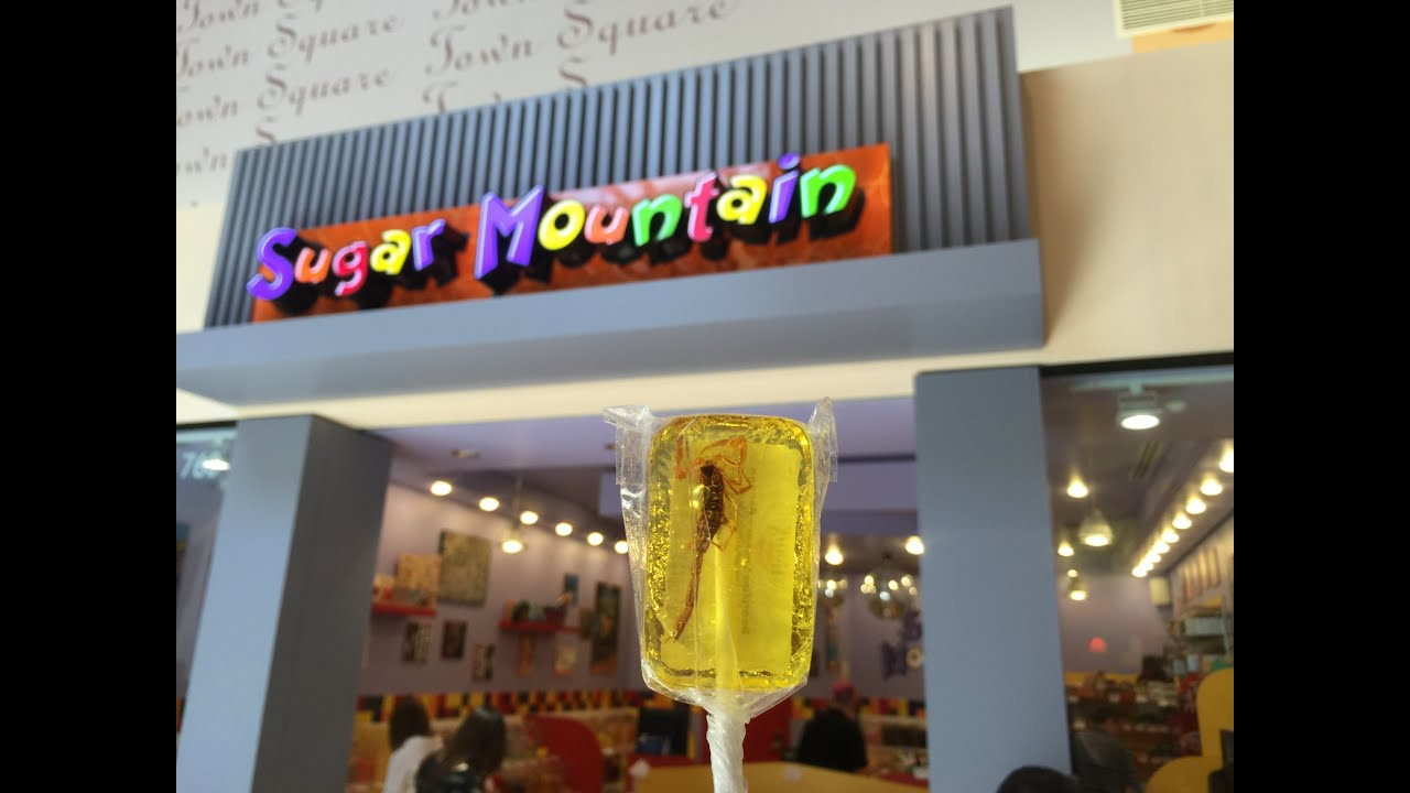 Vaughan Mills mall, scorpion candy and Toys-R-Us playtime