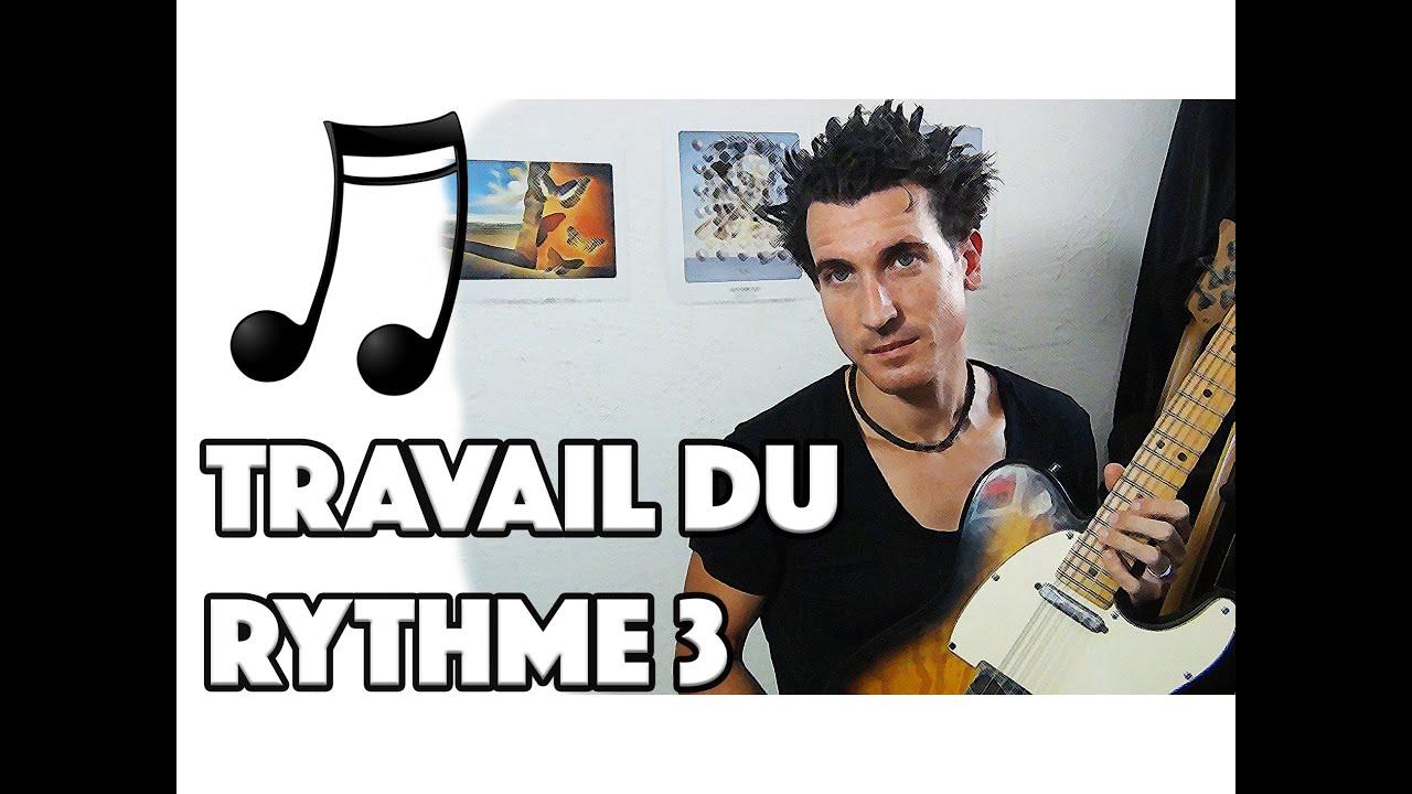 TRAVAIL DU RYTHME 3 - LE GUITAR VLOG 082