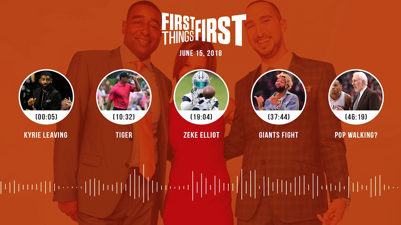 First Things First audio podcast(6.15.18) Cris Carter, Nick Wright, Jenna Wolfe | FIRST THINGS FIRST