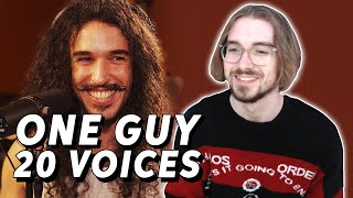 One Guy, 20 Voices (Michael Jackson, Post Malone, Roomie & MORE) (REACTION)