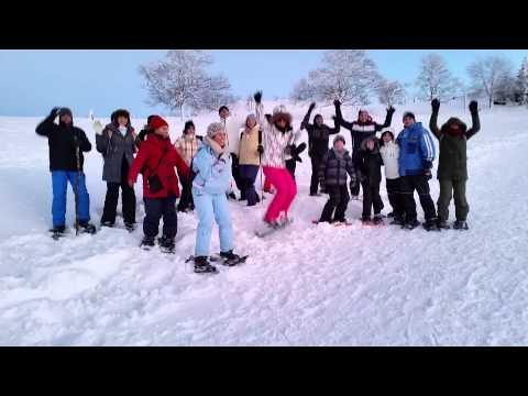 kar yürüyüşü isviçre