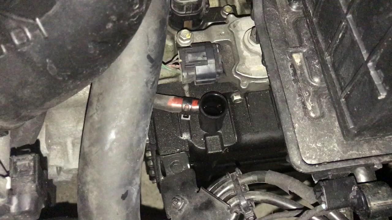 How To Check Transmission Fluid Hyundai Sonata Youtube