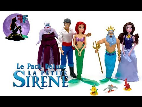 La petite sirène - Review du Pack Deluxe Disney Store poster