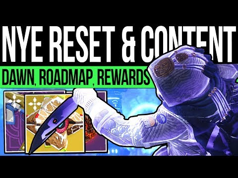 Destiny 2 | NEW YEARS RESET & DLC REWARDS! January Quests, Vendors, Nightfalls, Pinnacles (31st Dec)