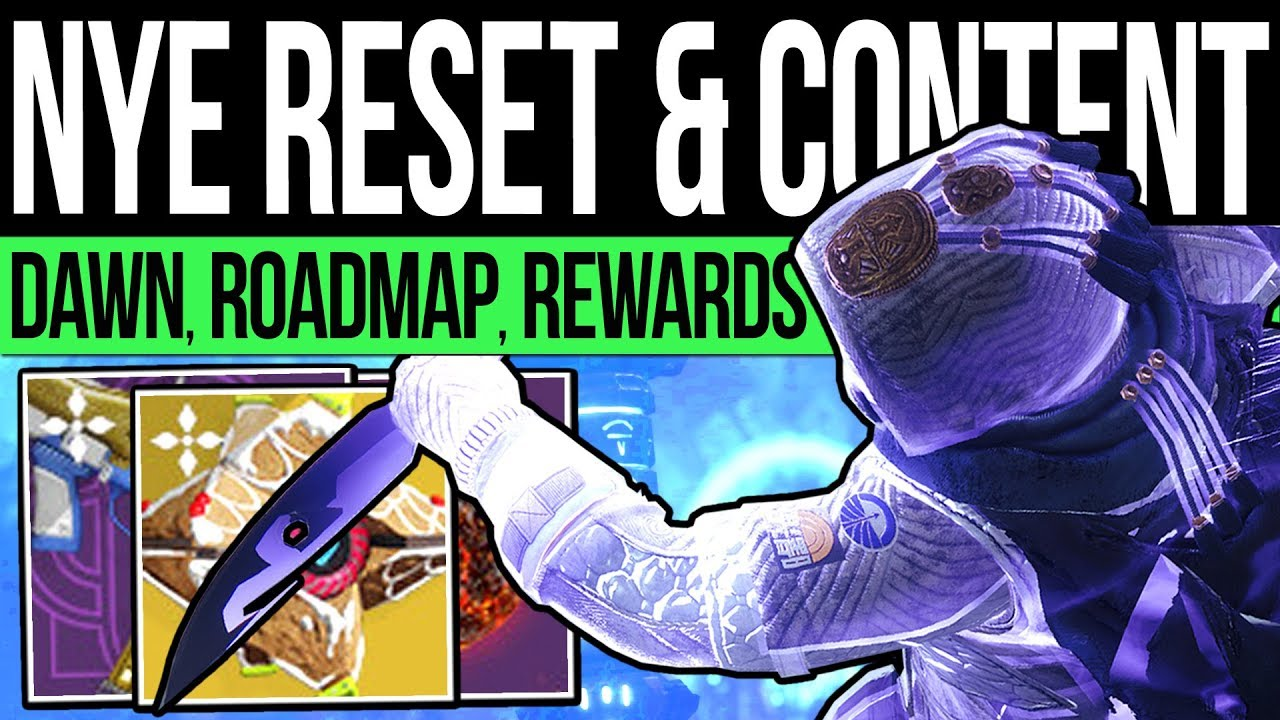 Destiny 2 | NEW YEARS RESET & DLC REWARDS! January Quests, Vendors, Nightfalls, Pinnacles (31st Dec) thumbnail