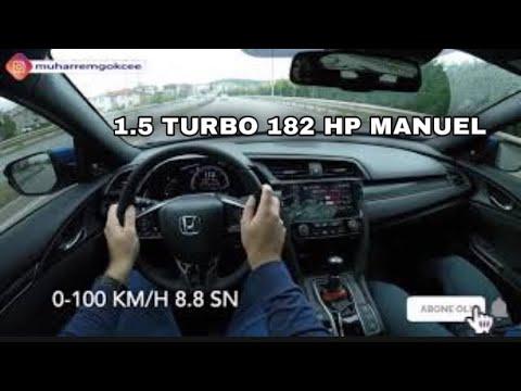 Honda Civic Manuel   5 Dakika Özel Test Sürüşü