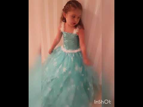 Elsa konseptli doğum günü partisi..