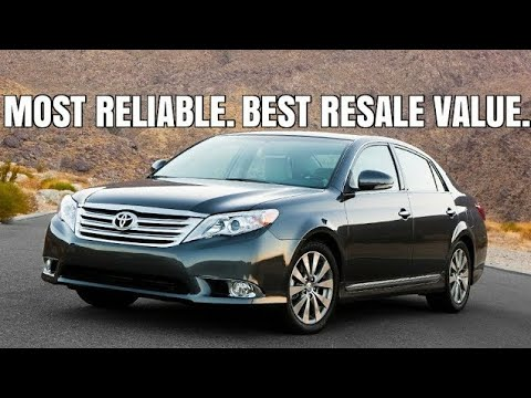 2012 Toyota Avalon Limited Best Toyota Sedan