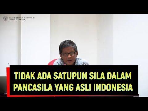 Rocky Gerung - Tidak Ada Satupun Sila Dalam Pancasila yang Asli Indonesia