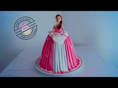 Princess Cake I Barbie Torte I Barbie Kuchen I Tutorial IBarbie Doll Cake |Fondant Cake |Motivtorte