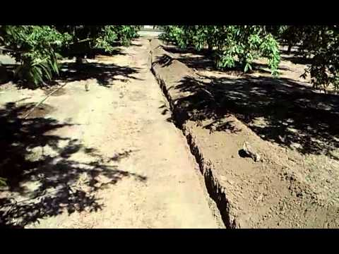 Trenching At Work (Laying Comcast Cable) - YT