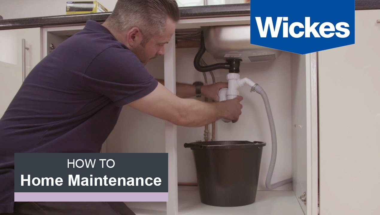 How To Fix A Leaking Sink With Wickes You