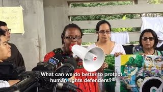 Attacked for Activism: How do we protect activists in Latin America?