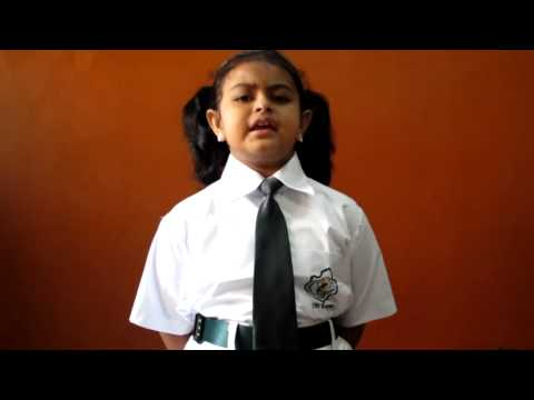 Reema Inter School Hindi Elocution Competition.