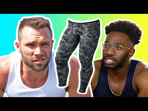 Thumbnail: Guys Work Out In Tights For The First Time