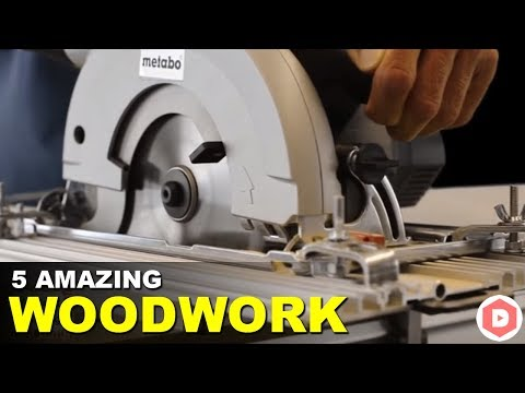 5 Amazing DIY WOODWORKING Tools You Must Have