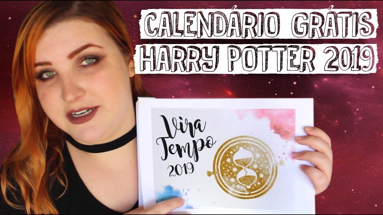 Calendario Harry Potter.Calendario Harry Potter 2019 Gratis Download Free D