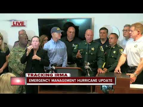 Governor Rick Scott Presser on Hurricane Irma