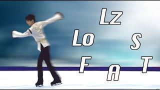 アクセル ルッツ フリップ ループ サルコウ トウループ fancams by Layl...