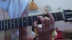 N° 305 - tuto guitare - l'auvergnat - Georges BRASSENS