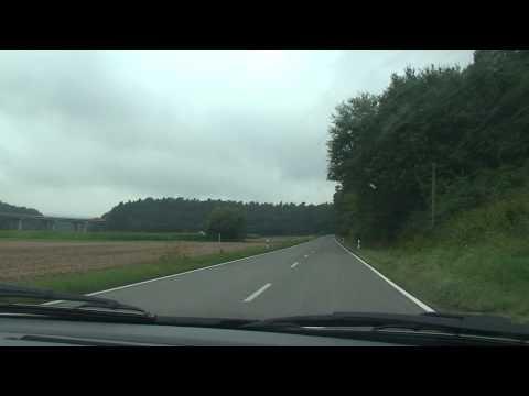 Bavaria Oberfranken Heiligenstadt-Bamberg road HD part 2