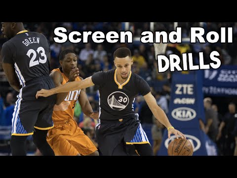 Screen and Roll Basketball Pre Game Warmup Drills   Basketball Pre Game Drills