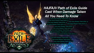 Path of Exile: Very Basic Guide On Cast When Damage Taken (CWDT)