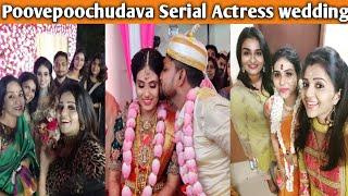 Poovepoochudava serial actress wedding | zeetamil | shiva | shakthi | reshma muralidharan | krithika