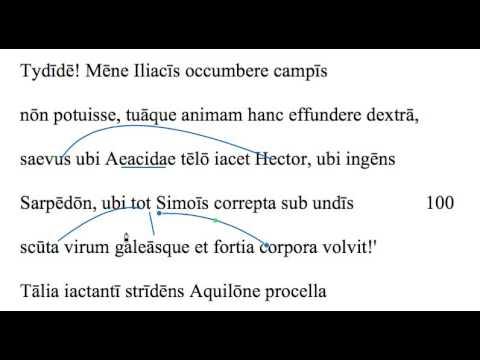 Aeneid 1.99-101 translation