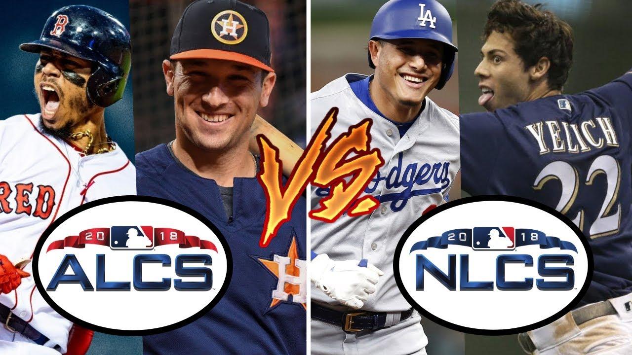 MLB Playoffs - ALCS & NLCS: Red Sox vs Astros, Dodgers vs Brewers | MLB  Predictions (2018)