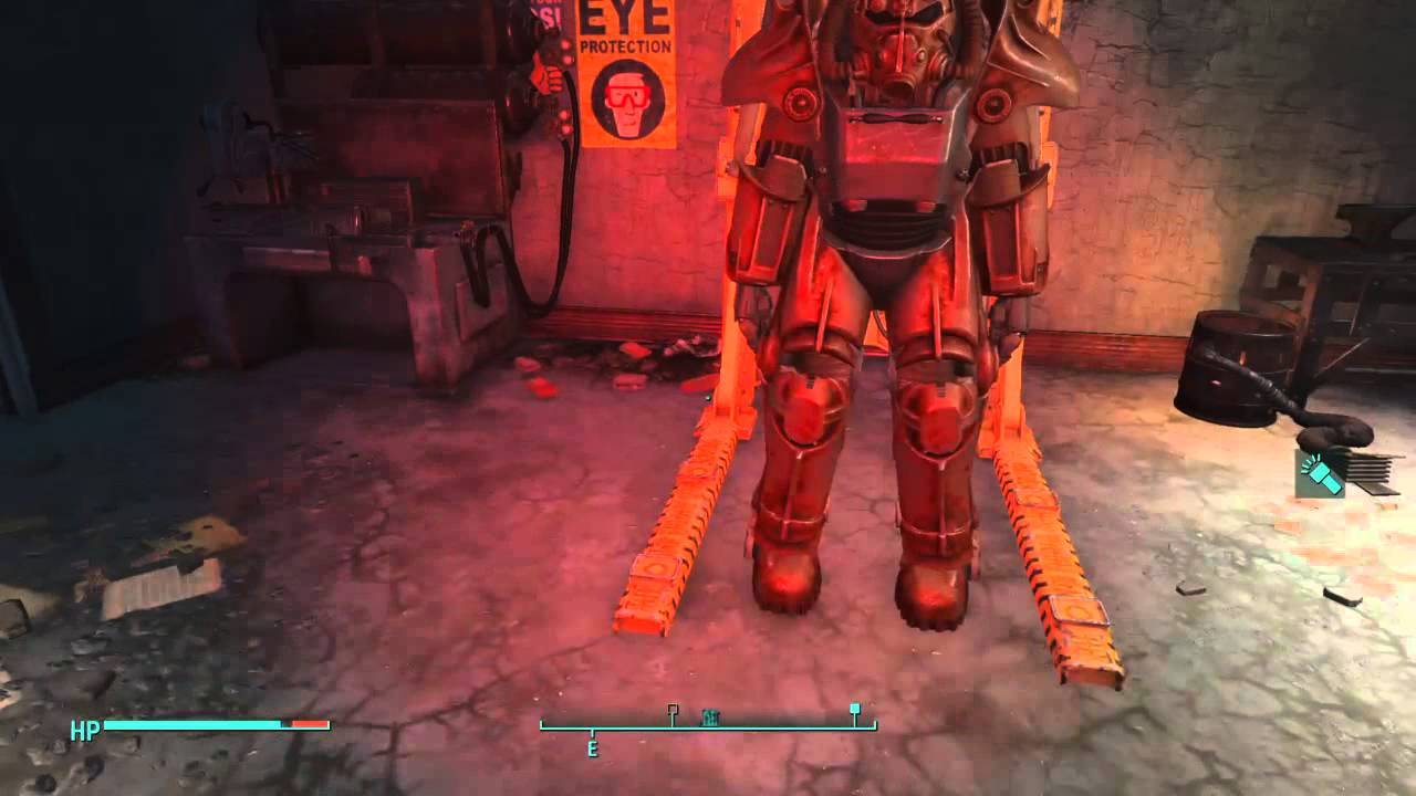 Fallout 4 Bright flashlight mod vs  Red tactical mod