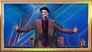 Arias Joker denuncia la corrupción política de España | Audiciones 1 | Got Talent España 2019