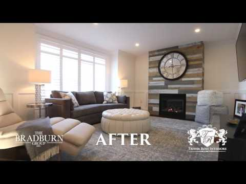 Bradburn Group: Whole Home Renovation: Before and After