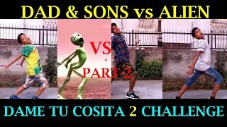 "Nepalese Super Dad & Sons vs ""Alien Part 2"" 