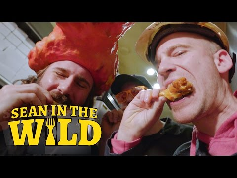 Sean Evans Learns How To Make Real-Deal Buffalo Wings | Sean In The Wild