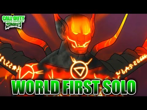 WORLD FIRST SOLO SUPER EE BOSS FIGHT - IW Zombies
