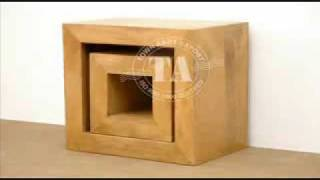 Furniture Wooden Cube Range Furniture,cube Range Indian Funriture Manufacturer And Exporter