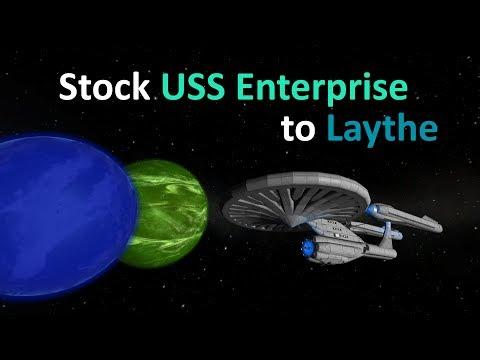 [KSP] Stock USS Enterprise to Laythe