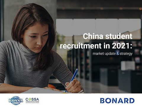 Webinar: China student recruitment in 2021 - market update & strategy