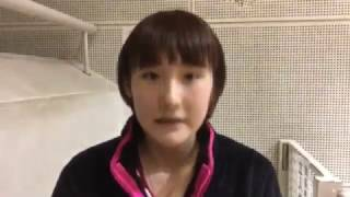 【世界卓球2017ドイツ日本代表選考会】加藤美優 大会2日目インタビュー