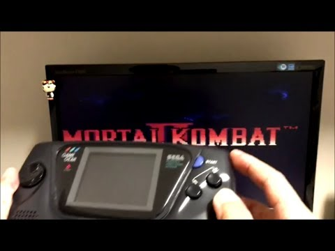 Upgrade Sega Game Gear with TFT LCD+VGA-Out!