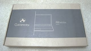 Gateway NV510P04u 1TB Touch Laptop with Windows 8.1 Unboxing