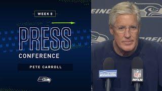 Head Coach Pete Carroll Week 8 Monday Press Conference   2019 Seattle Seahawks