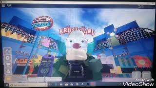 Back at Universal Studios ROBLOX after the update