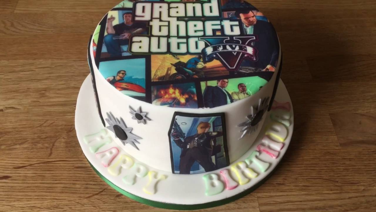 How To Make Xbox One Cake