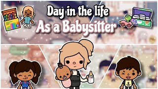 Day in the life as a Babysitter   Toca life world ♡︎