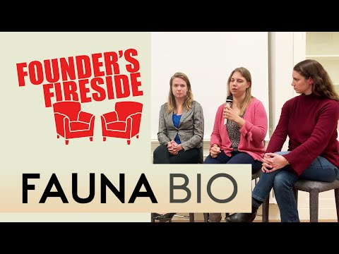Building a BioTech Startup From Scratch with Fauna Bio – Founders Fireside