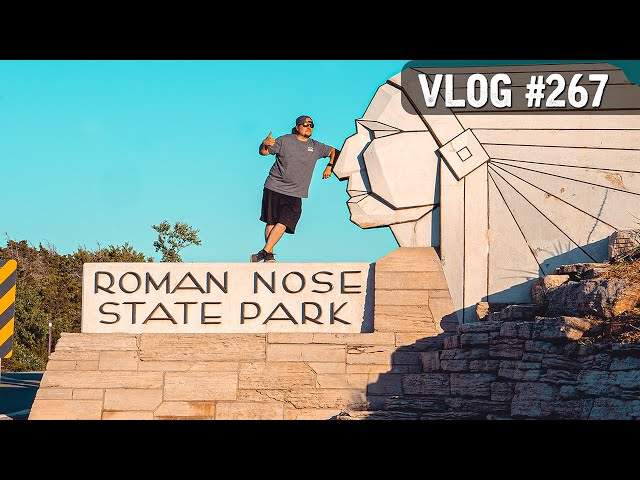 VLOG #267 / Mountain Biking @ ROMAN NOSE State Park (Oklahoma) / June 10, 2020